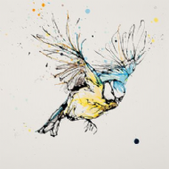 Kathryn Callaghan - 'Direction' Blue Tit
